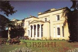 Amateur Radio QSL Card GB2BHI Nottingham Club Sherwood 1996 Upton Hall Newark - Radio Amateur