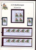 Belgie 2397 PREO H2 RR Buzin Vogels Birds Feuille De Collection Numéro De Planche Plaatnummer Drukdatum - 1985-.. Pájaros (Buzin)
