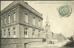 08 Ardennes SORMONNE La Mairie La Place Et L église - France