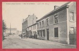 Fexhe-le-Haut Clocher - Rue De La Station ... Attelage  - 1913 ( Voir Verso ) - Fexhe-le-Haut-Clocher