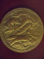 Médaille Bronze Signée P LANDOWSKI 1950 Commerces Multiples - Francia