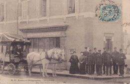 Poste Et Télégraphes - Carte Postée De St JUST EN CHEVALET - Unclassified