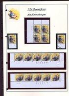 Belgie 2294 PREO Novarode Buzin Vogels Birds Feuille De Collection Numéro De Planche Plaatnummer Drukdatum - 1985-.. Pájaros (Buzin)
