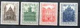 Pays Bas / Série N 491 à 494 / NEUFS ** - 1891-1948 (Wilhelmine)