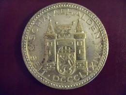 Médaille ALLEMAGNE DEUTSCHLAND SCHMALKALDEN 1976 - Allemagne