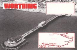 Amateur Radio Blank QSL Card Worthing Pier Unused - Radio Amateur