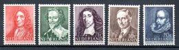 Pays Bas / Série N 478 à 482 / NEUFS ** - 1891-1948 (Wilhelmine)