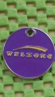 Shopping Carts /  Einkaufswagenchip- Netherlands  Welzorg Professional , Oldenzaal - Jetons De Caddies