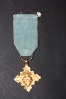 """Médaille Religieuse Pendentif Décoration """"Pélerinage D'Autun"""" Religious Medal - Religión & Esoterismo"""