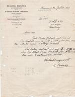 Lettre ( Grande Brasserie Alsacienne D'Adelshoffen - Schiltigheim //  1939 ) - Other