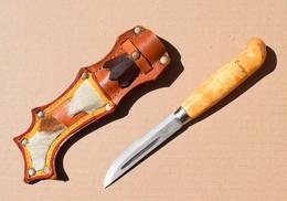 Couteau Suédois KJ Eriksson Mora - Vintage Couteau - Armes Blanches