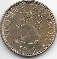 *finland 20 Pennia 1976  Km 47  Xf+ - Finlande