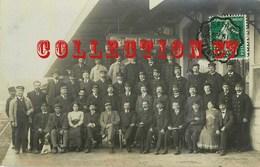74 ☺♥♥ ANNECY < RARE CARTE PHOTO Des EMPLOYES De La GARE En 1912 - AUTHENTIFICATION VOIR SCAN N° 3 Et 4 - Annecy