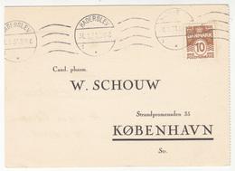 Denmark 1931 Pharmacy Brevkort Bestillingskort Coramin Cibalgin  B180901 - Postal Stationery