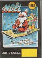 (jouets) Catalogue NOEL 1981 (CAT 1140) - Advertising