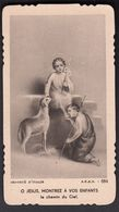 St Jean Baptiste Et Jesus Image Pieuse Religieuse Holy Card Santini Made In Italy N° 684 - Santini