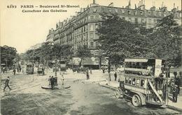 75 - Paris - Boulevard Saint Marcel - Carrefour Des Gobelins - France