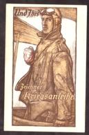 Carte Postale De Propagande Allemande - 1ère Guerre Mondiale - Aviateur - Aviateurs