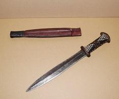 Couteau Africain - Poignard Hausa - Peuple Peul - 36.5 Cm - Armi Bianche