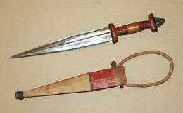 Couteau Poignard De Bras TOUAREG - 32.5 Cm - Armes Blanches