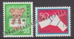 Japan - Japon 1980 Yvert 1336-37, Letter Writing Day - MNH - 1926-89 Emperador Hirohito (Era Showa)