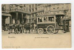 Bruxelles, La Voiture Bourse Ixelles. Nels Bruxelles, Série 1 N) 296 - Transport Urbain En Surface