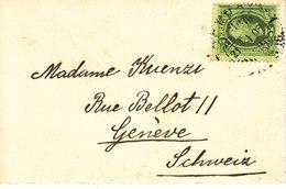 LETTRE POUR LA SUISSE - 1908 - Sweden