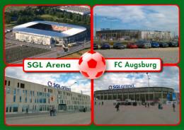 AK Stadion Postkarte SGL-Arena Augsburg FC Fußball Stadium Postcard Football Stadio Calcio Stade Estadio Bayern - Fussball