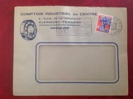 Clermont Ferrand Course Automobile Comptoir Du Centre - Storia Postale