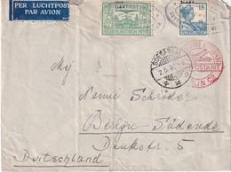 INDES NEERLANDAISES 1932 LETTRE DE SOERABAJA POUR BERLIN PAR AVION - Indes Néerlandaises
