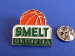 Pin's Smelt Olimpija - Olympique - Club De Basketball Basket Ball (PX59) - Basketball