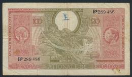 °°° BELGIUM 100 FRANCS=20 BELGAS 1943 °°° - [ 2] 1831-... : Regno Del Belgio