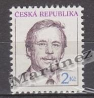 Czech Republic - Tcheque 1993 Yvert 3 Tribute To President Vaclav Havel - MNH - República Checa