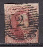 BELGIE 1851   OBP  8  Used,see Scan      [1826  ] - 1851-1857 Medaillen (6/8)