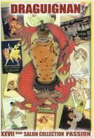 SALON DE LA CARTE POSTALE  DE DRAGUIGNAN PARFUM ILLUSTRATION ANDRE ROUSSEY - Bourses & Salons De Collections