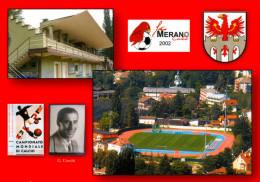AK Stadion Postkarte Stadio Giampiero Combi FC Merano Calcio Meran 2002 Südtirol Alto Adige Italia Italien Italy Calcio - Fussball