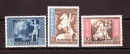 Allemagne - 1942 - N° 746A à C - Neufs ** - Clôture Du Congrès Postal Européen - Neufs