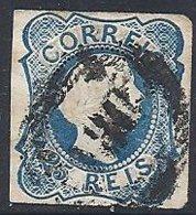 PORTUGAL - Dom Pedro V - 25 C. Type I Oblitéré - 1855-1858 : D.Pedro V