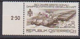 Österreich 1979 Nr.1602 ** Postfr.150Jahre Erste Donau-Dampfschiffarts-Gesellschaft ( 3789 ) Günstige Versandkosten - 1971-80 Neufs