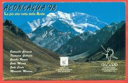 ALMENNO SAN SALVATORE-SPEDIZIONE ALPINISTICA ALL'ACONCAGUA- 1998 -GAMASS - Alpinisme