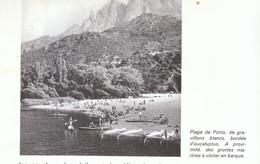 1971 - Iconographie - Ota (Corse) - La Plage De Porto - FRANCO DE PORT - Non Classificati