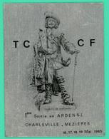 Charleville Mezières - Plaque Métalique Du TCCF - Mai 1985 - Uniface - - Charleville