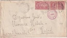 ITALIE 1918 LETTRE CENSUREE DE VERONA - Marcophilia