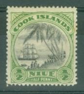 Niue: 1932/36   Pictorial (insc. Niue Cook Islands)  SG62    ½d    MH - Niue