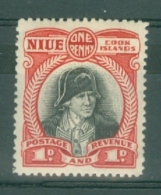 Niue: 1944/46   Pictorial (insc. Niue Cook Islands)  SG90    1d    MH - Niue