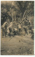 Palm Oil Preparation Nude Men And Children Basel Mission  . Used From Gold Coast To Le Bas Canet Marseille - Ghana - Gold Coast
