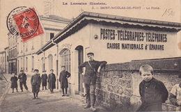 SAINT NICOLAS DE PORT - La Poste - Saint Nicolas De Port