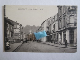 54 Meurthe Et Moselle Villerupt Rue Carnot Publicité Byrrh - France