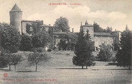 Le Montellier Château Canton Meximieux - Autres Communes