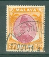Malaya - Selangor: 1949/55   Sultan Hisamud-din Alam Shah   SG103    25c      Used - Selangor